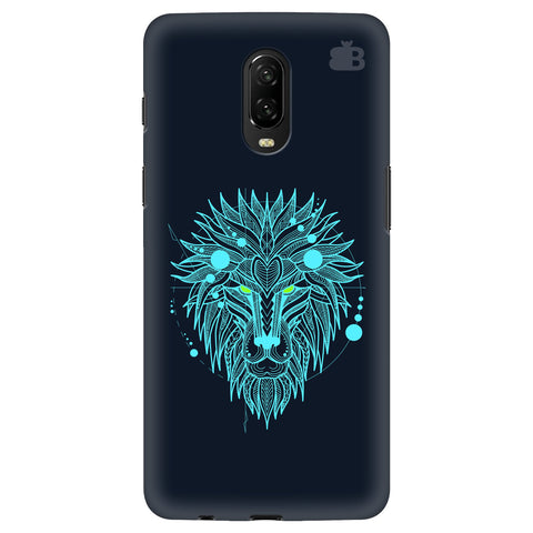 Abstract Art Lion OnePlus 6T Cover