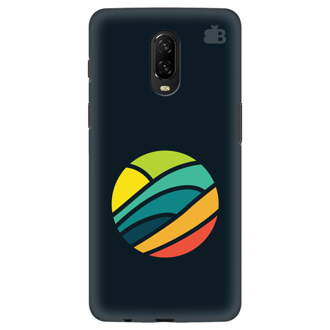 Abstract Circle OnePlus 6T Cover