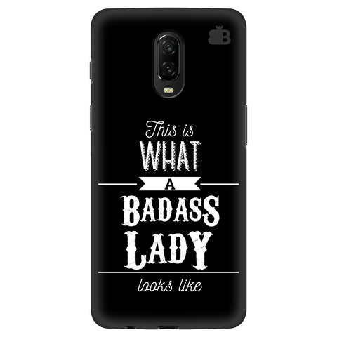 Badass Lady OnePlus 6T Cover