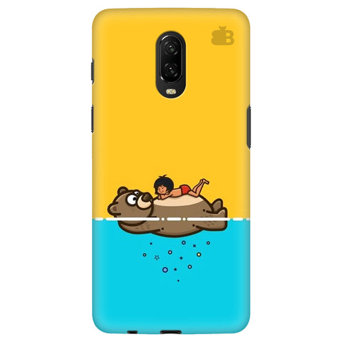 Baloo and Mowgli OnePlus 6T Cover