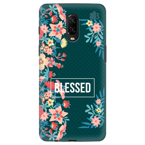 Blessed Floral OnePlus 6T Cover