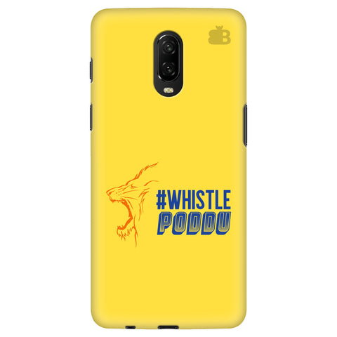 Chennai Super Kings Oneplus 6T Cover