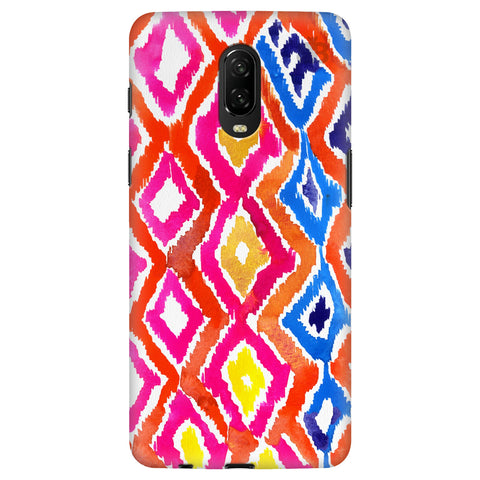 Colorful Ikat OnePlus 6T Cover
