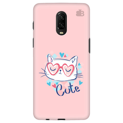 Cute Sleepy Kity OnePlus 6T Cover