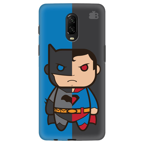 Cute Superheroes Annoyed OnePlus 6T Cover