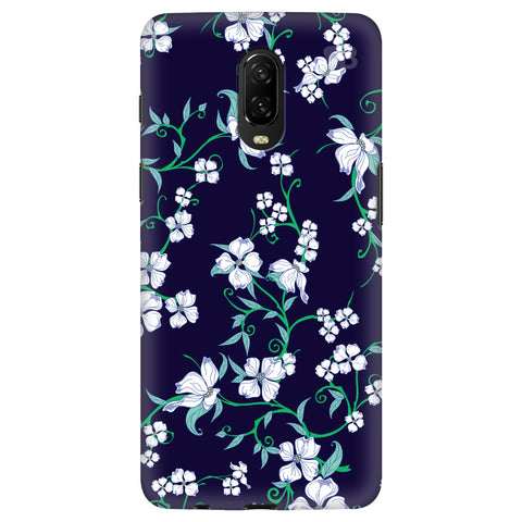 Dogwood Floral Pattern OnePlus 6T Cover