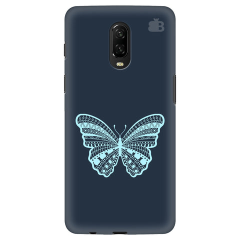 Ethnic Butterfly Art OnePlus 6T Cover
