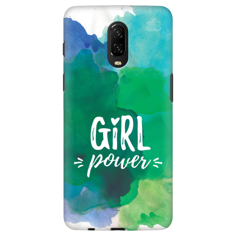 Girl Power OnePlus 6T Cover