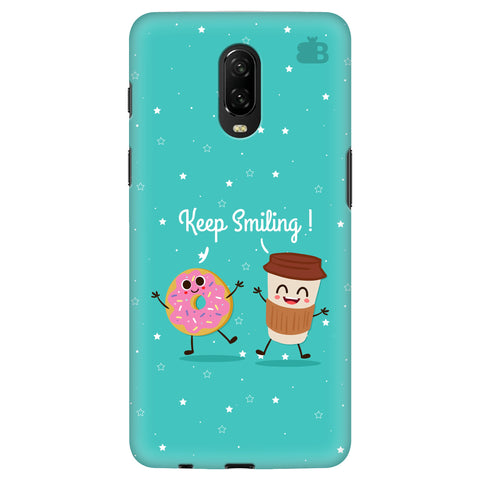 Keep Smiling OnePlus 6T Cover