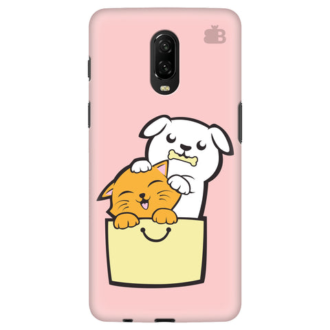 Kitty Puppy Buddies OnePlus 6T Cover