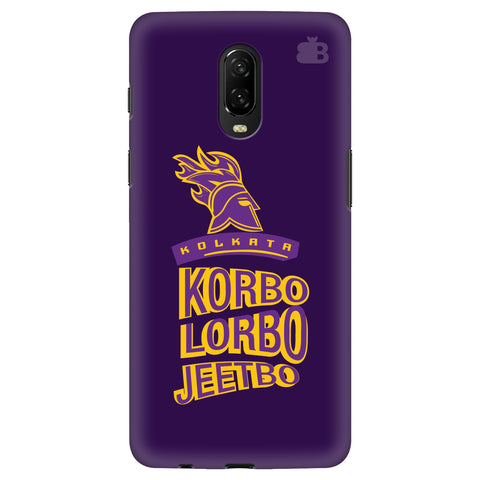 Kolkata Knight Oneplus 6T Cover