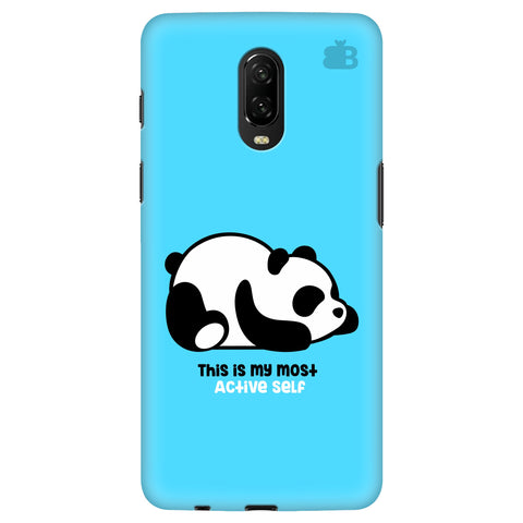 Most Active Panda OnePlus 6T Cover