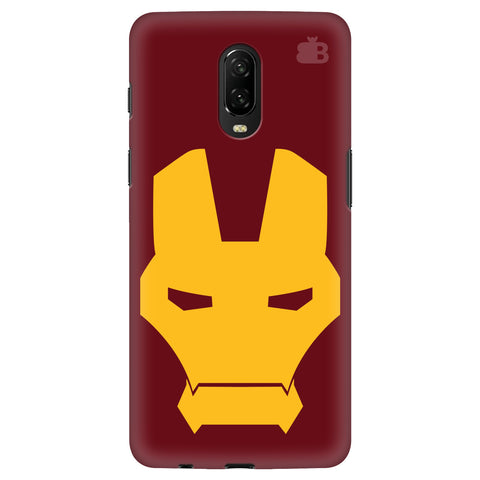 Superhero Mask OnePlus 6T Cover