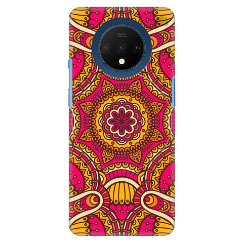 Colorful Ethnic Art Oneplus 7T Cover