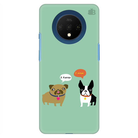 Cute Dog Buddies Oneplus 7T Cover