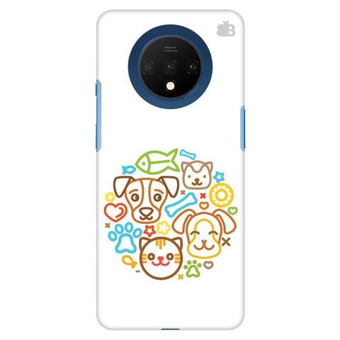 Cute Pets Oneplus 7T Cover