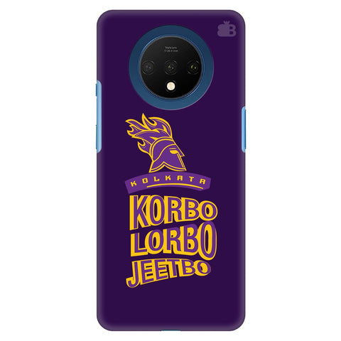 Kolkata Knight Oneplus 7T Cover