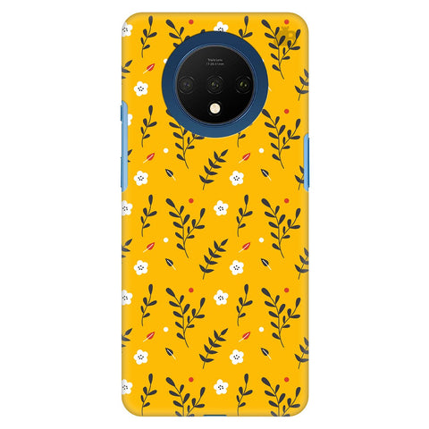 Summer Floral Pattern Oneplus 7T Cover