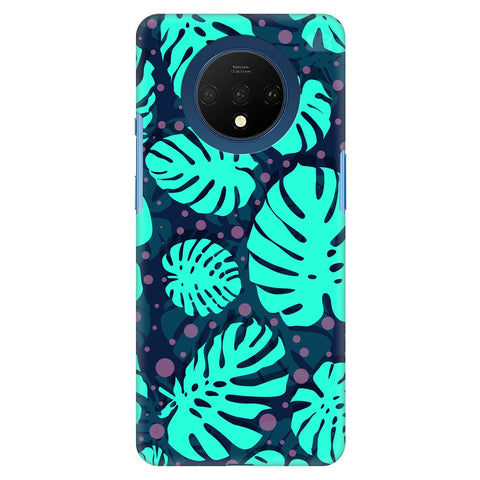 Tropical Leaves Pattern Oneplus 7T Cover