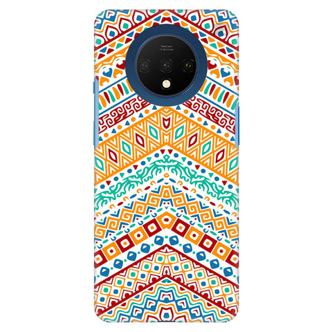 Wavy Ethnic Art Oneplus 7T Cover