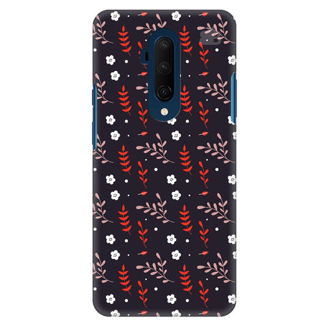 Autumn Floral Pattern Oneplus 7T Pro Cover