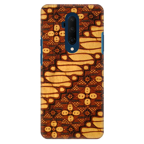 Brown Batik Oneplus 7T Pro Cover
