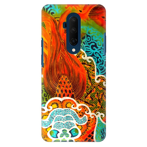 Colorful Batik Art Oneplus 7T Pro Cover