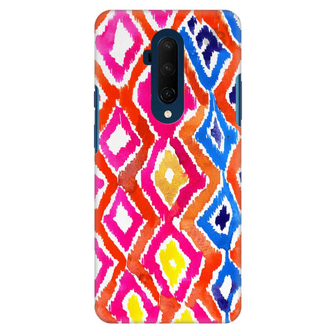 Colorful Ikat Oneplus 7T Pro Cover