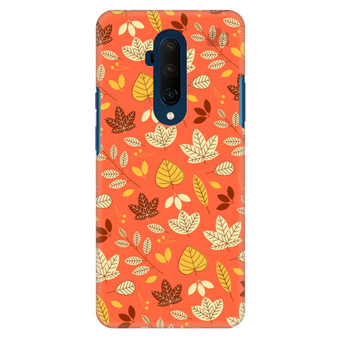 Cute Leaves Pattern Oneplus 7T Pro Cover