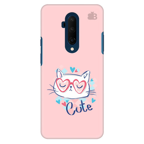 Cute Sleepy Kity Oneplus 7T Pro Cover