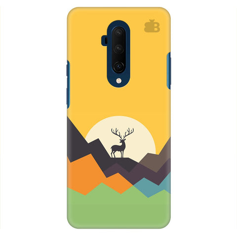 Deer In Mountains Oneplus 7T Pro Cover
