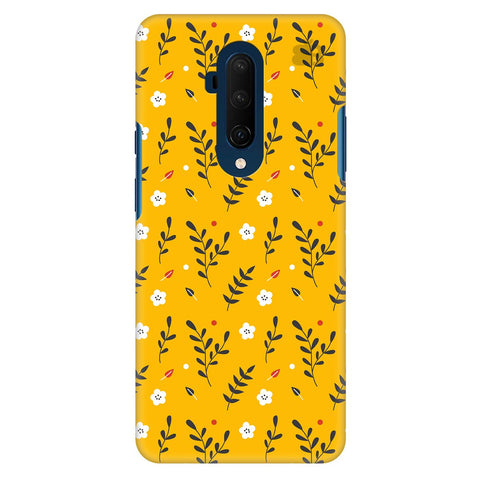 Summer Floral Pattern Oneplus 7T Pro Cover