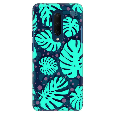 Tropical Leaves Pattern Oneplus 7T Pro Cover