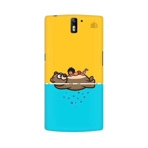 Baloo and Mowgli OnePlus One Phone Cover