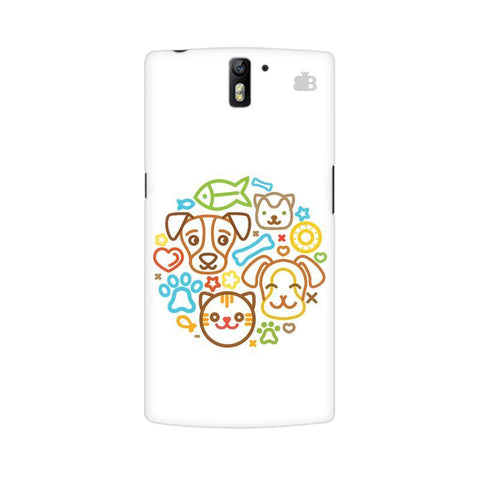 Cute Pets OnePlus One Phone Cover