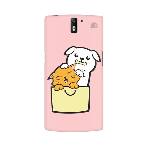 Kitty Puppy Buddies OnePlus One Phone Cover