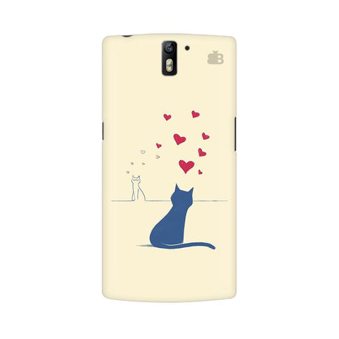 Kitty in Love OnePlus One Phone Cover