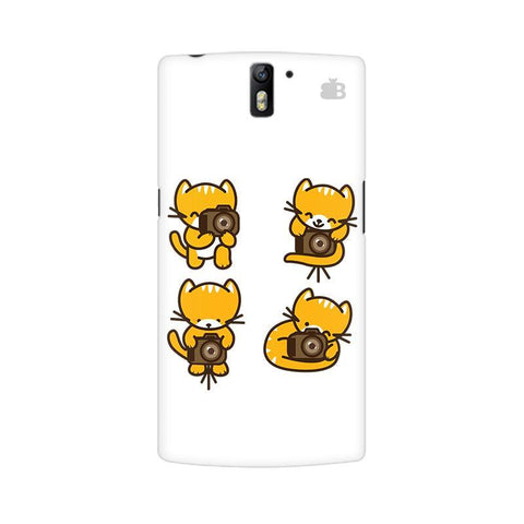Photographer Kitty OnePlus One Phone Cover