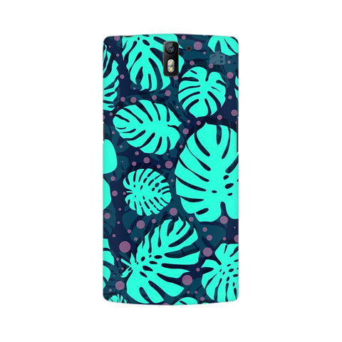 Tropical Leaves Pattern OnePlus One Phone Cover