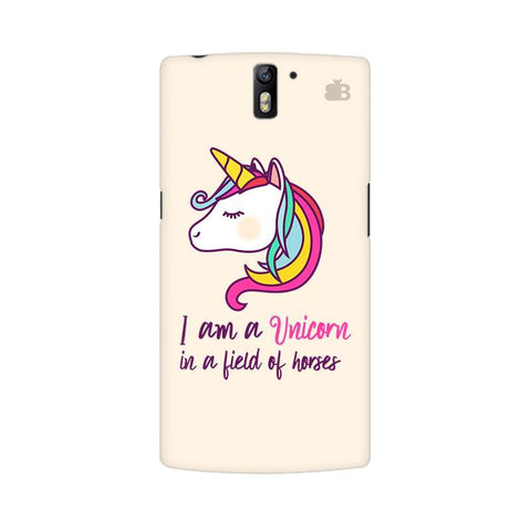Unicorn in Horses OnePlus One Phone Cover