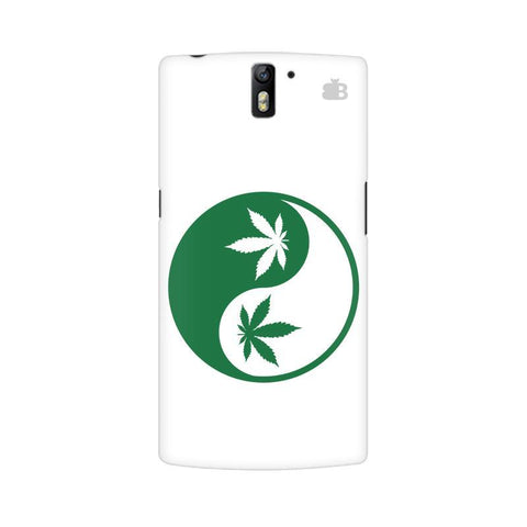 Weed Yin Yang OnePlus One Phone Cover