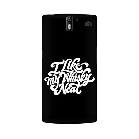 Whiskey Neat OnePlus One Phone Cover