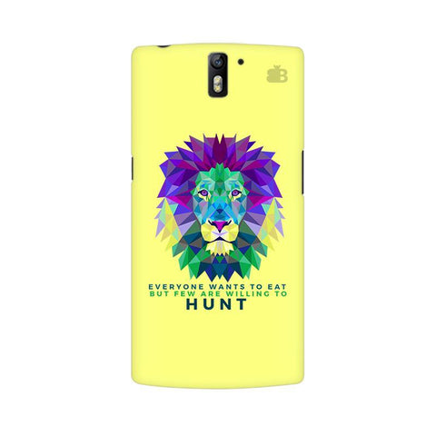 Willing to Hunt OnePlus One Phone Cover