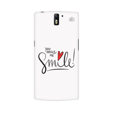 You make me Smile OnePlus One Phone Cover