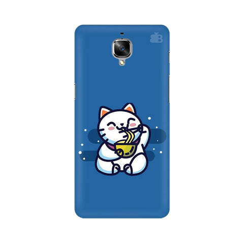 KItty eating Noodles OnePlus 3T Phone Cover