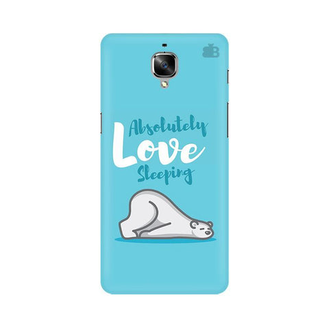 Love Sleeping OnePlus 3T Phone Cover
