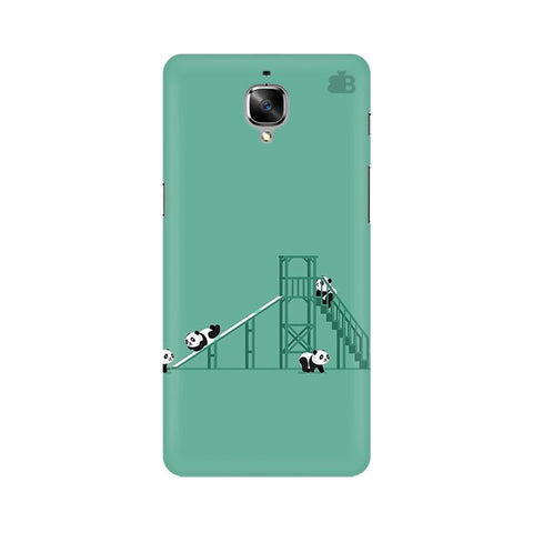Pandas Playing OnePlus 3T Phone Cover