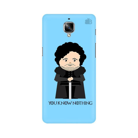 You Know Nothing OnePlus 3T Phone Cover