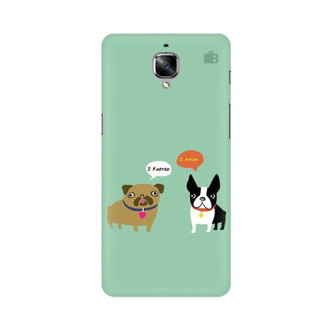Cute Dog Buddies OnePlus 3 Phone Cover