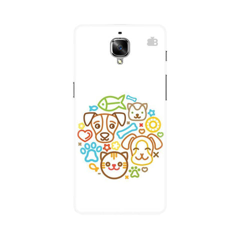 Cute Pets OnePlus 3 Phone Cover